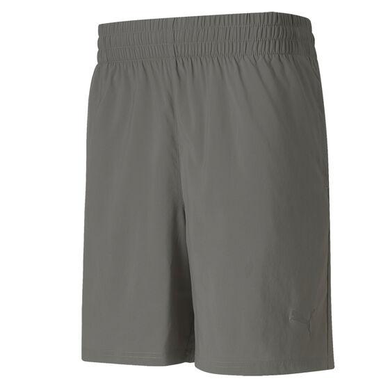 Puma Mens Blaster Woven 7in Training Shorts, Grey, rebel_hi-res