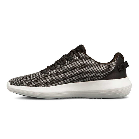 Under Armour Ripple Womens Casual Shoes, Black / White, rebel_hi-res