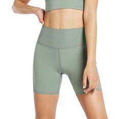 Nimble Womens Spin Around Shorts Green XXS, Green, rebel_hi-res