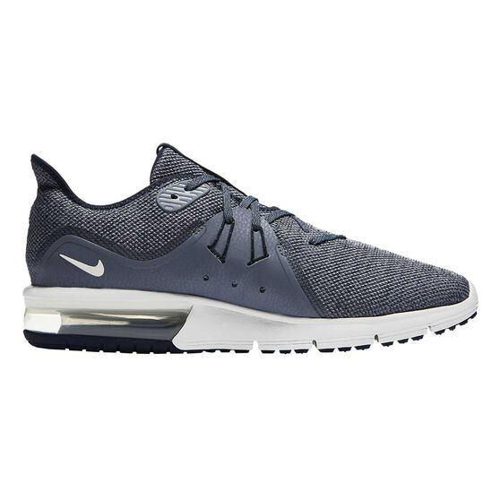Nike Air Max Sequent 3 Mens Running Shoes, Grey, rebel_hi-res