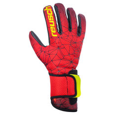Reusch Pure Contact II R3 Goalkeeper Gloves Black / Red 8, Black / Red, rebel_hi-res