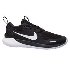 Nike Flex Contact 4 Kids Running Shoes Black/White US 4, Black/White, rebel_hi-res