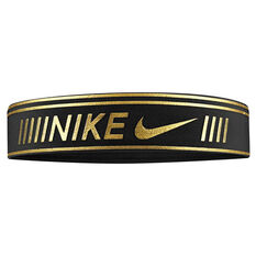 Nike Womens Pro Metallic Headband, , rebel_hi-res