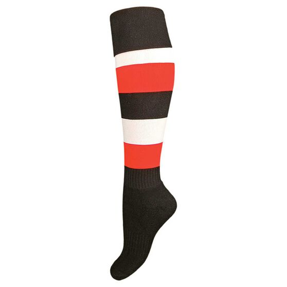 Burley St Kilda Kids Football Socks, , rebel_hi-res