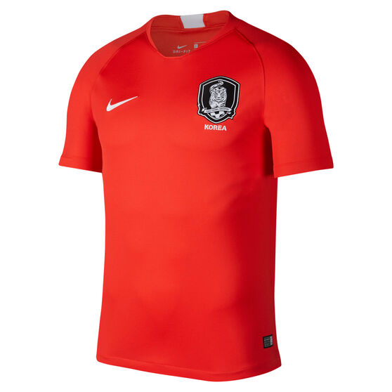 99e32475865 South Korea 2018 Mens Football Jersey Red S