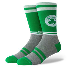 Stance Mens Boston Celtics City Gym Socks Green / Grey M, Green / Grey, rebel_hi-res