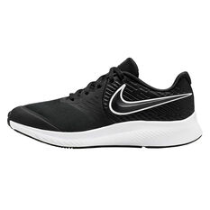 Nike Star Runner 2 Kids Running Shoes Black / White US 4, Black / White, rebel_hi-res