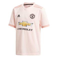 Manchester United 2018 / 19 Kids Away Jersey Pink 10, Pink, rebel_hi-res