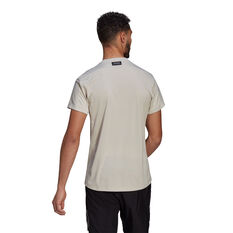adidas Mens Run for the Oceans Graphic Tee, White, rebel_hi-res