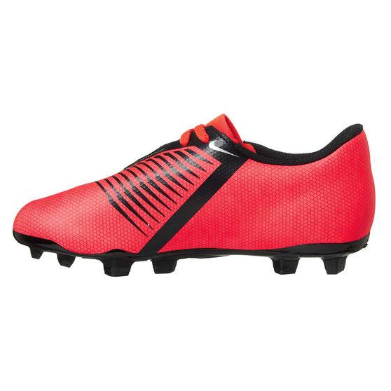 Nike Phantom Venom Club Kids Football Boots, Red / Silver, rebel_hi-res
