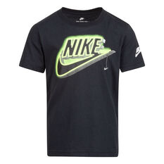Nike Boys SS Graphic Tee, Black, rebel_hi-res