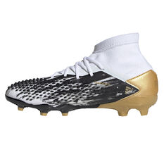 adidas Predator Mutator 20.1 Kids Football Boots White/Gold US 4, White/Gold, rebel_hi-res