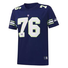 Seattle Seahawks Poly Mesh Tee, , rebel_hi-res
