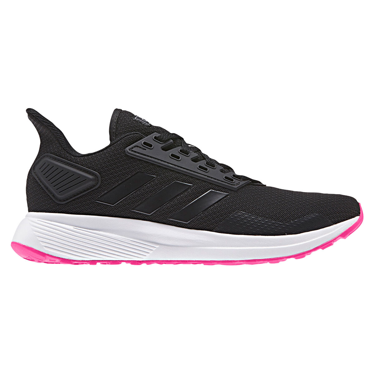 size 40 85e41 5ebce ... clearance adidas duramo 9 womens running shoes black pink us 5 black  pink 56f2d f98f8