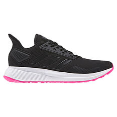 adidas Duramo 9 Womens Running Shoes Black / Pink US 5, Black / Pink, rebel_hi-res