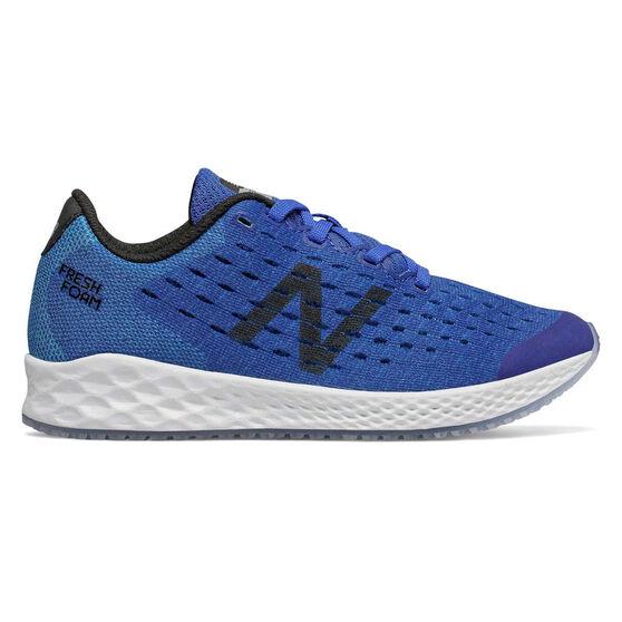 New Balance Fresh Foam Zante v4 Kids Running Shoes, Blue / Black, rebel_hi-res