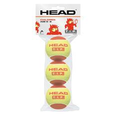 Head T.I.P. Red 3 Ball Pack Yellow / Red, , rebel_hi-res