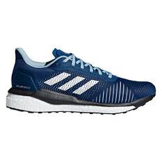 adidas Solar Drive ST Mens Running Shoes Blue / White US 7, Blue / White, rebel_hi-res