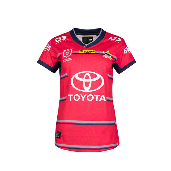 North Queensland Cowboys 2021 Womens WIL Jersey, Pink, rebel_hi-res