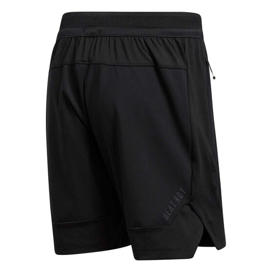 adidas Mens HEAT.RDY Training Shorts, Black, rebel_hi-res