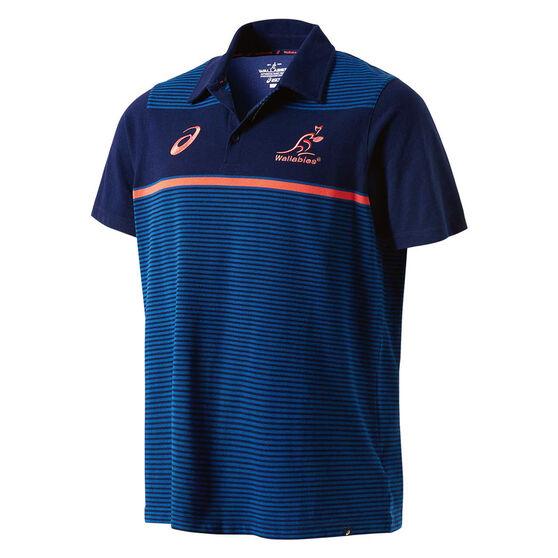 Wallabies 2018 Mens Supporter Polo Shirt, , rebel_hi-res