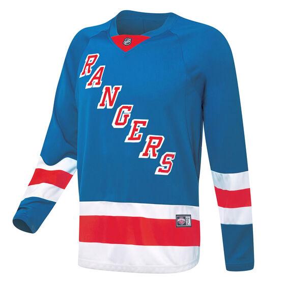 New York Rangers Mens Replica Jersey, Blue, rebel_hi-res