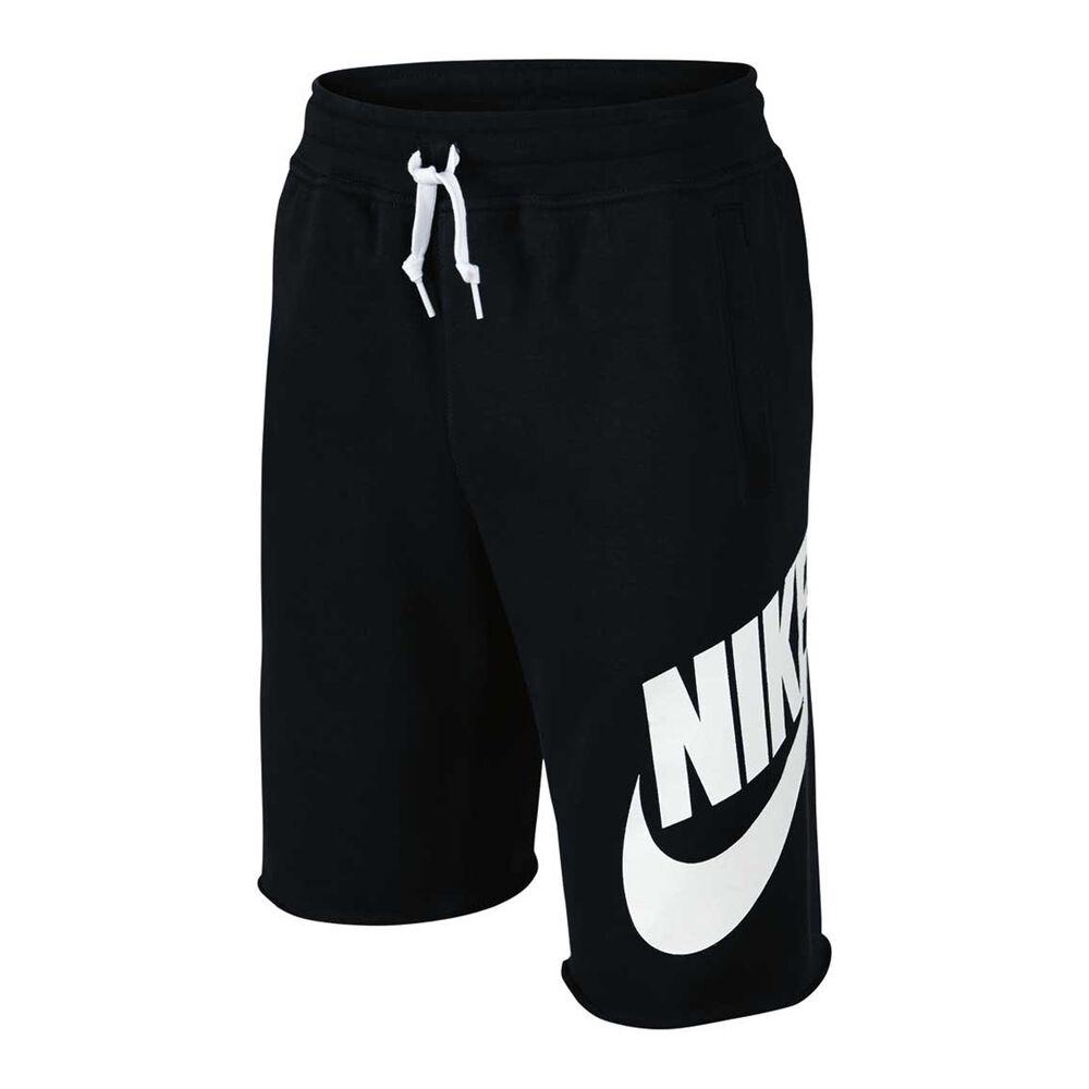 ecee0e6e1 Nike Boys French Terry Alumni Shorts Black XS Junior, Black, rebel_hi-res