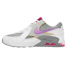 Nike Air Max Excee Kids Casual Shoes Grey/Pink US 4, Grey/Pink, rebel_hi-res