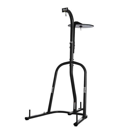 Everlast Heavy Bag and Speed Bag Stand Black, , rebel_hi-res