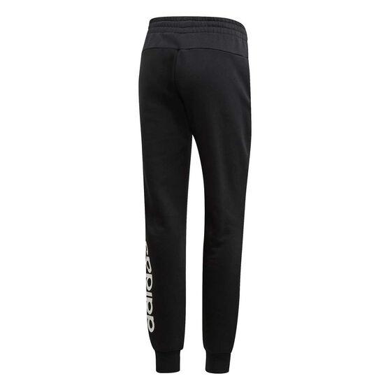 adidas Womens Essentials Linear Pants, Black, rebel_hi-res