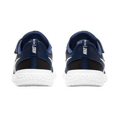Nike Revolution 5 Kids Running Shoes Navy US 11, Navy, rebel_hi-res