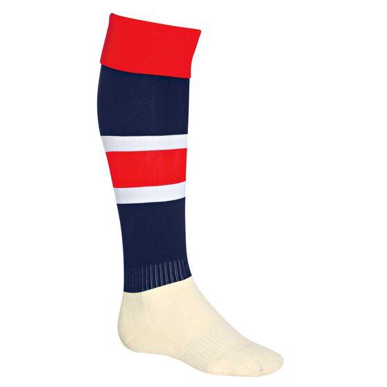Burley Roosters Football Socks, , rebel_hi-res
