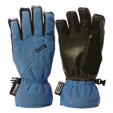 Rojo Womens Short Cuff Gloves Teal S, Teal, rebel_hi-res