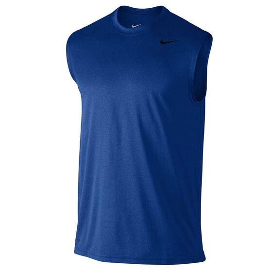Nike Mens Legend 2.0 Training Tank, Blue / Black, rebel_hi-res