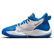 Nike Zoom Freak 2 Signal Blue Kids Basketball Shoes Blue US 11, Blue, rebel_hi-res