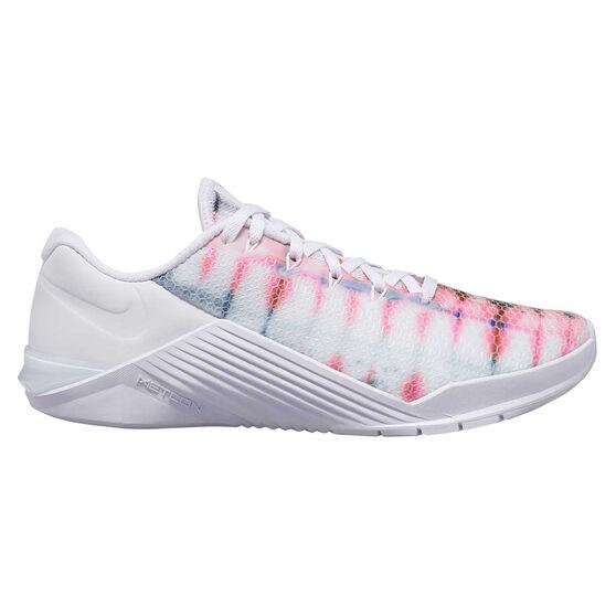 Nike Metcon 5 AMP Womens Training Shoes, White / Black, rebel_hi-res