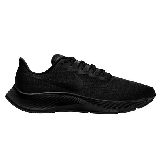 Nike Air Zoom Pegasus 37 Mens Running Shoes, Black/Grey, rebel_hi-res