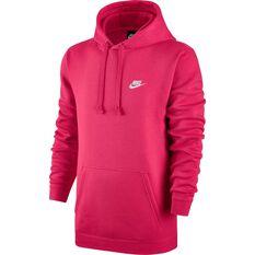 Nike Mens Sportswear Club Hoodie Pink XS, Pink, rebel_hi-res