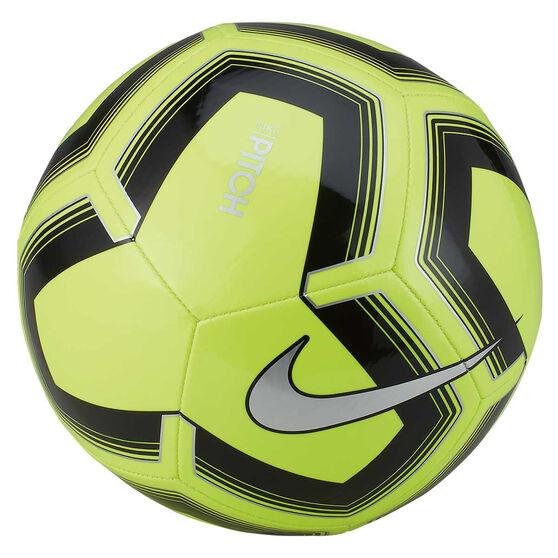 Nike Pitch Training SP19 Soccer Ball, Yellow / Black, rebel_hi-res
