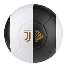 adidas Juventus FC Capitano Soccer Ball White / Black 3, White / Black, rebel_hi-res