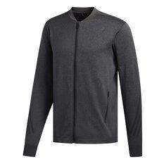 adidas Mens Primeknit 3-Stripes Training Jacket Black S, Black, rebel_hi-res