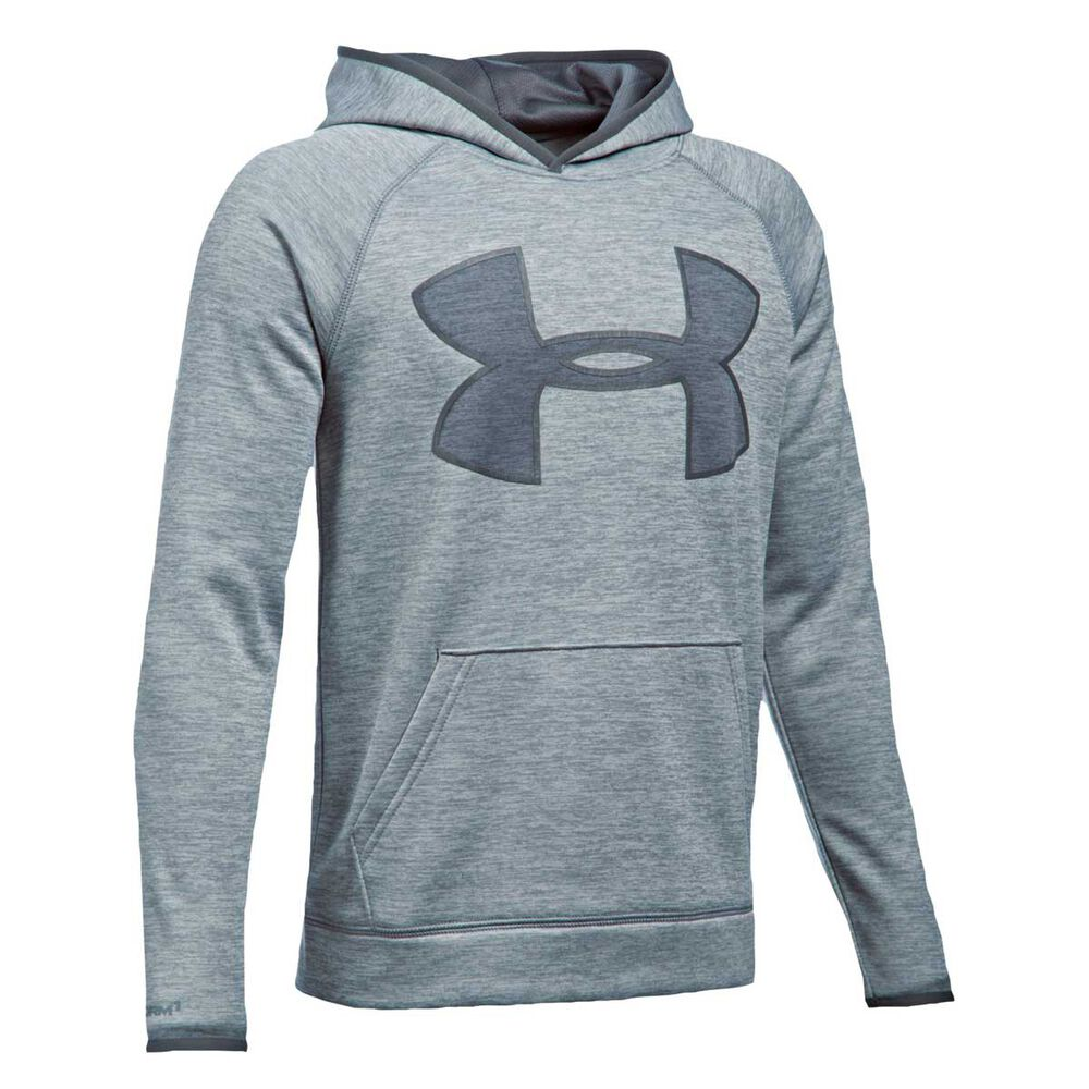 75f69a005c8f9 Under Armour Boys Storm Twist Highlight Hoodie Steel XS
