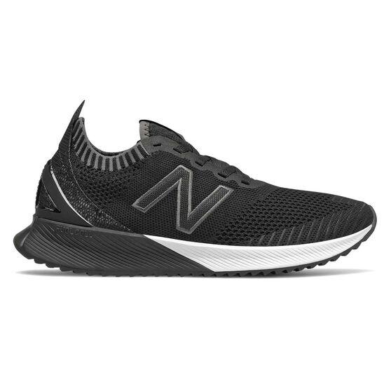 New Balance Echo Womens Running Shoes Black / White US 9.5, Black / White, rebel_hi-res