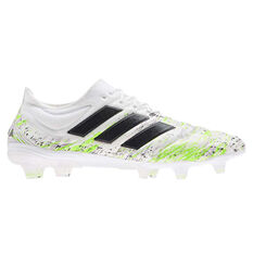 adidas Copa 20.1 Football Boots White US Mens 5 / Womens 6, White, rebel_hi-res