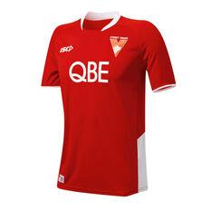Sydney Swans 2019 Mens Training Tee Red / White S, Red / White, rebel_hi-res