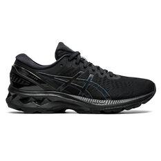 Asics GEL Kayano 27 Womens Running Shoes Black US 6, Black, rebel_hi-res