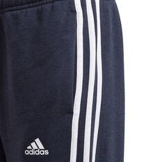 Adidas Boys VF Essential 3 Stripes Pants, Navy, rebel_hi-res