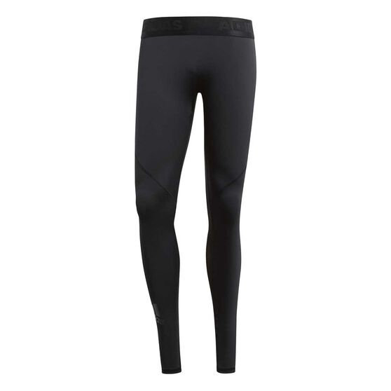 eefb0c10c84 adidas Mens Alphaskin Sport Long Tights Black S