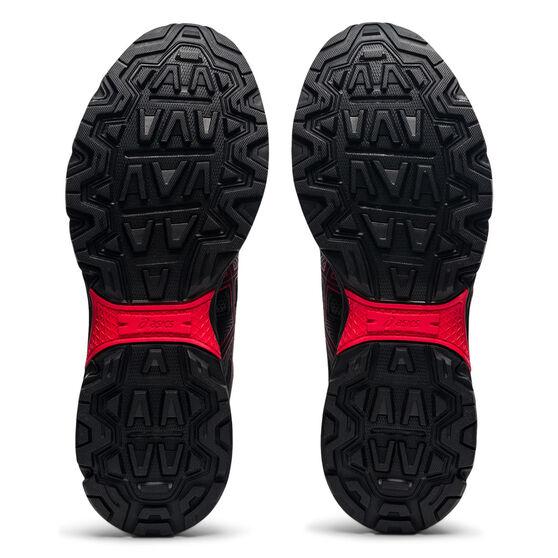 Asics GEL Venture 8 Mens Trail Running Shoes, Black/Red, rebel_hi-res