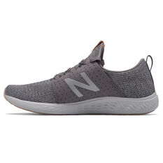New Balance Fresh Foam Sport Mens Running Shoes Brown/White US 7, Brown/White, rebel_hi-res